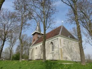 De kerk van Saaxumhuizen