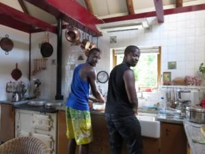 Eten koken volgens recept uit Martinique